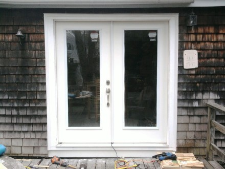 french door installation